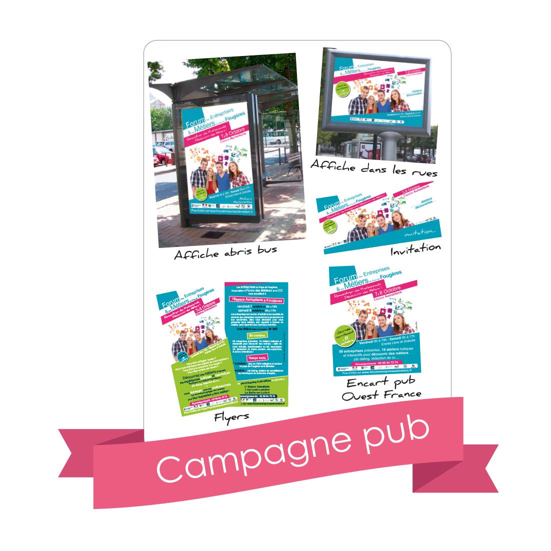 campagne publicitaite, campagne d'affiche cci saint-malo fougères 2016